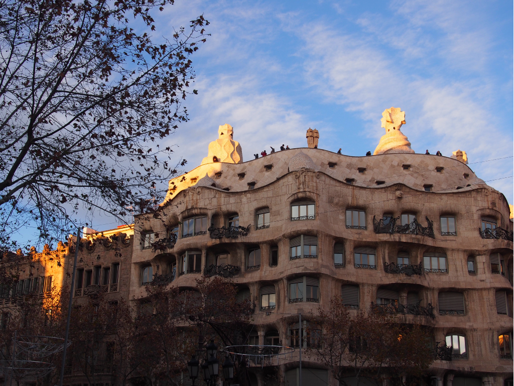 情熱的な街 Spain バルセロナ